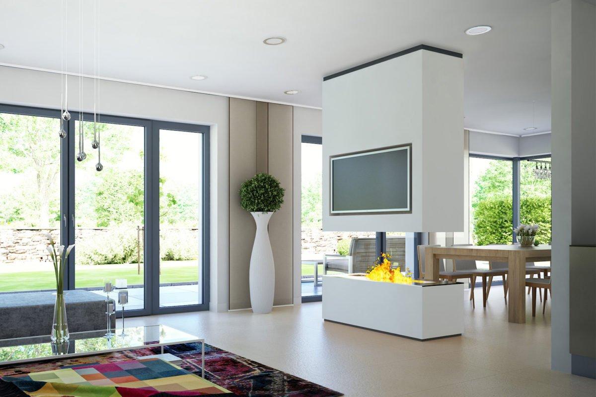 CONCEPT-M 165 Wuppertal - Ein Wohnzimmer mit Möbeln und einem Flachbildfernseher - Bien Zenker