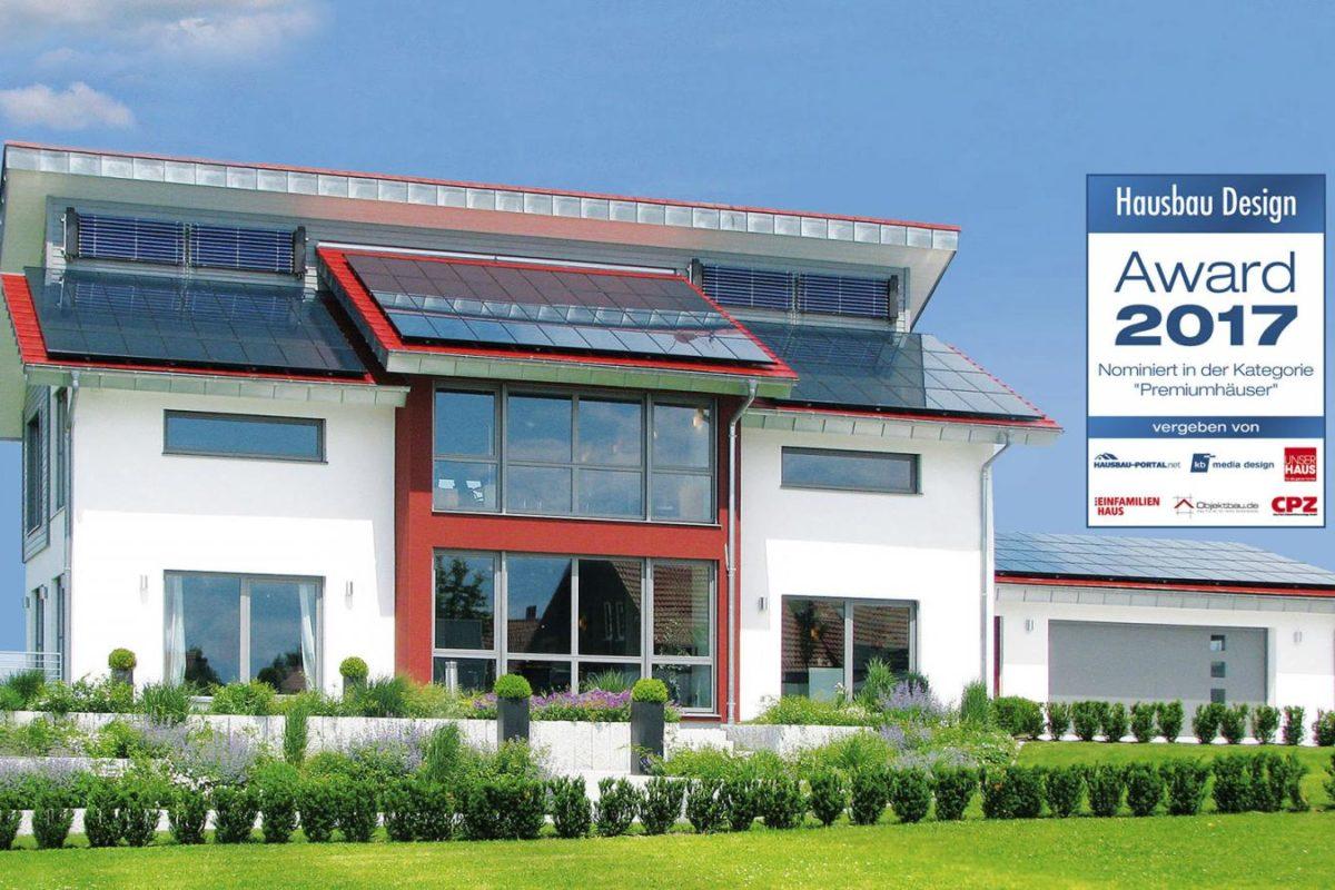 """Plusenergiehaus """"STYLE"""" - Fertighaus WEISS MusterhausWelt"""