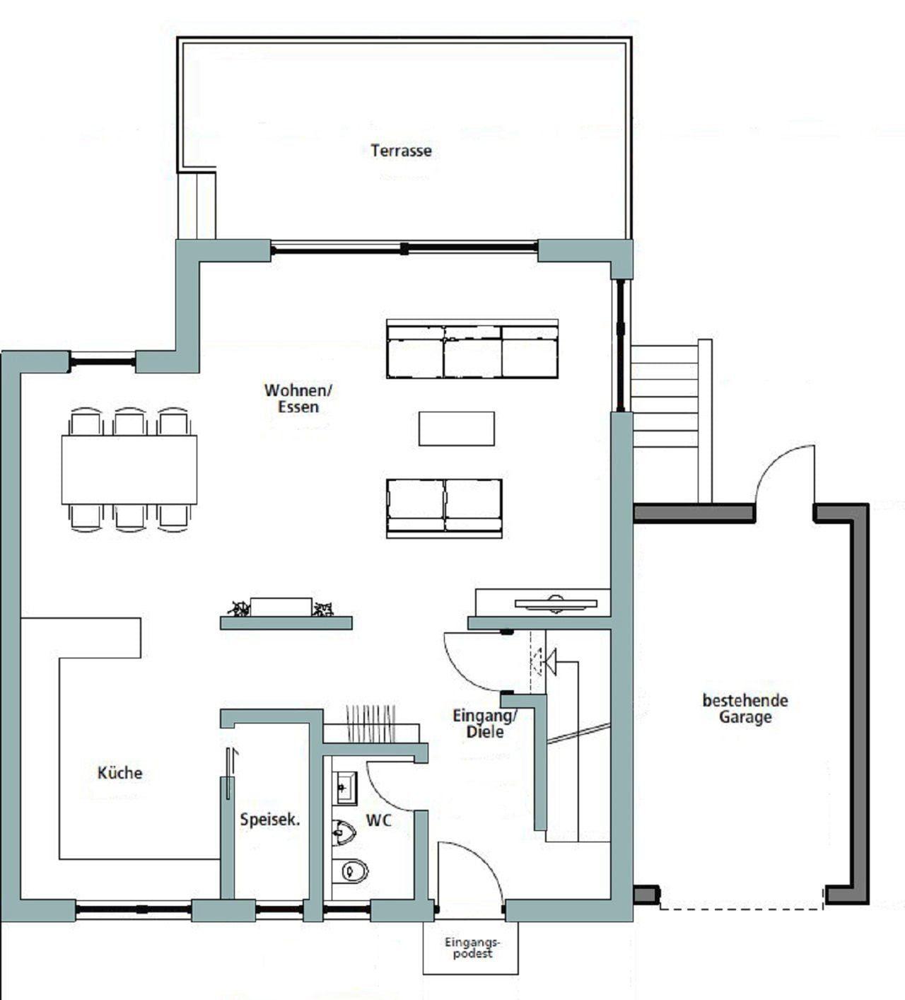 Gebäudeplan - Design