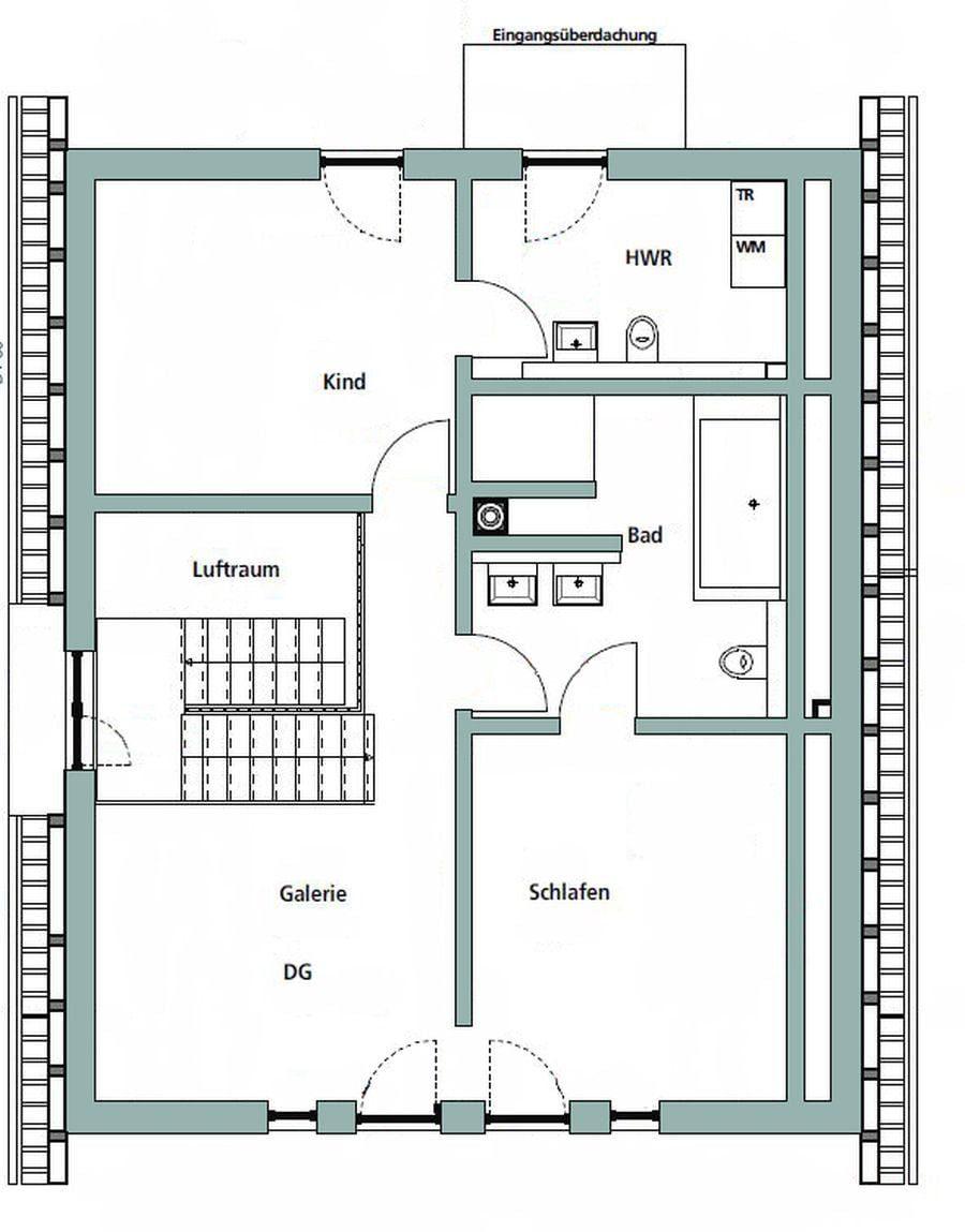 Gebäudeplan - Grundstück