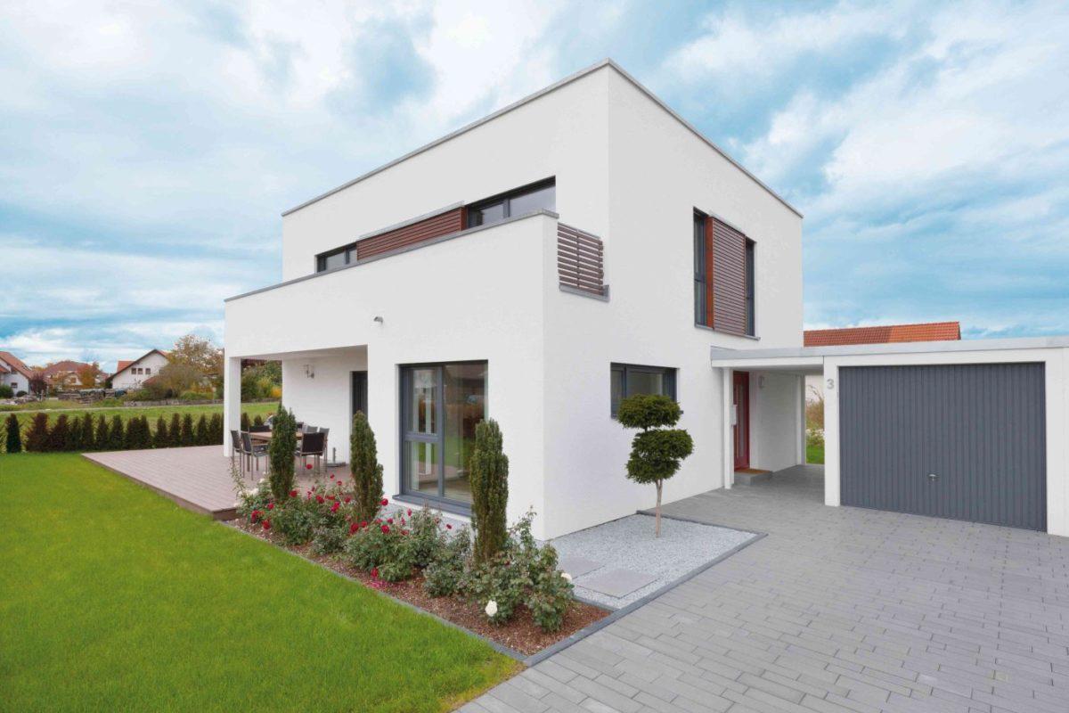 Talbau Haus Kubushaus U082