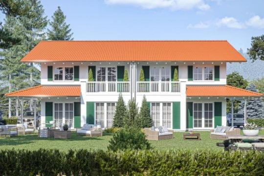 Haas Haus Doppelhaus D 137 A