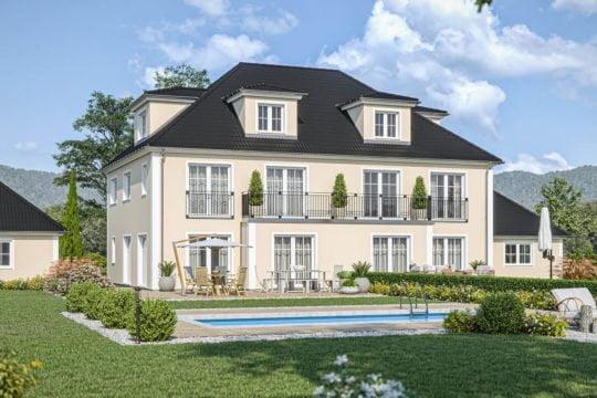Haas Haus Doppelhaus D 148 A