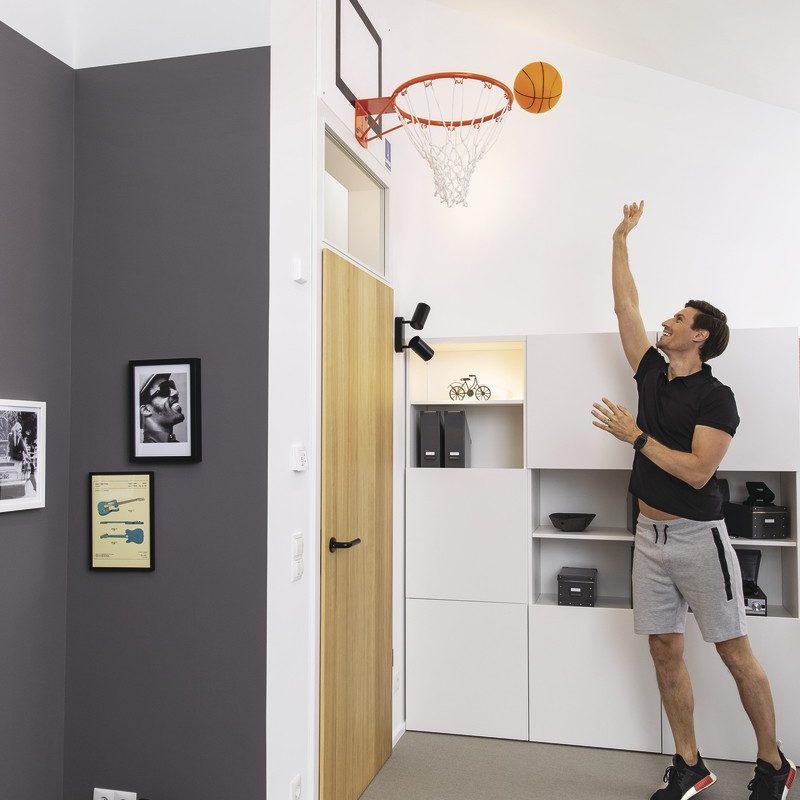 WeberHaus Musterhaus Sunshine Basketballkorb
