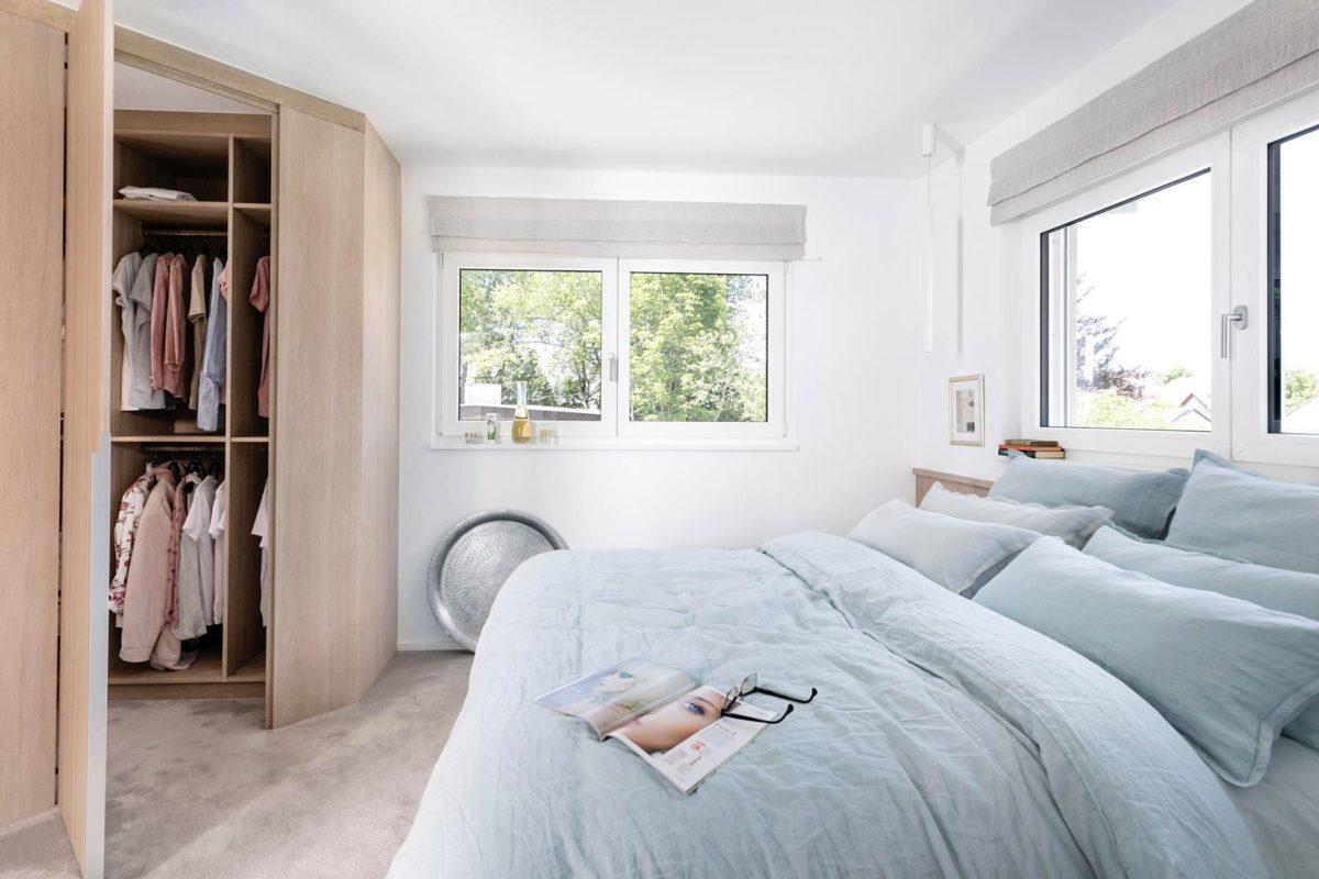 Bungalow Schwörer Schlafzimmer