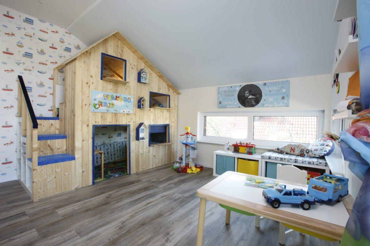 BienZenker Kundenhaus Jäger Kinderzimmer