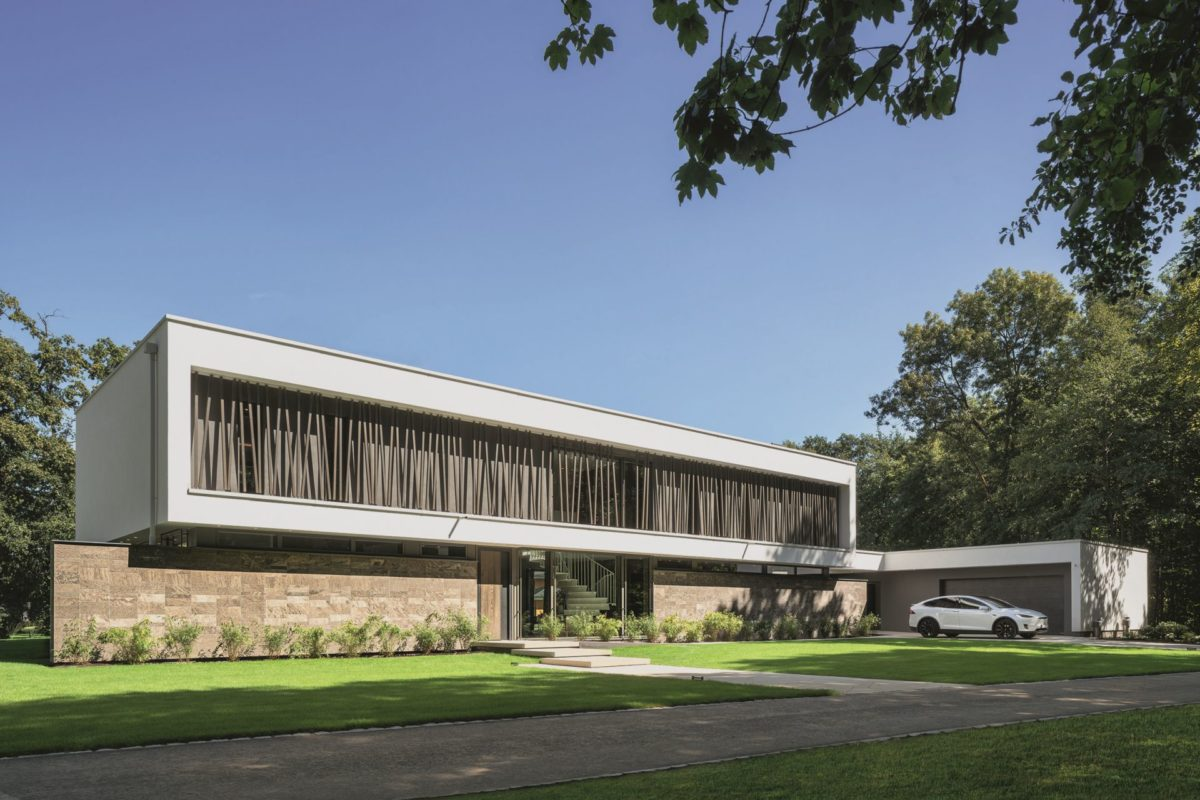 Weberhaus Architektenentwurf Luxusvilla