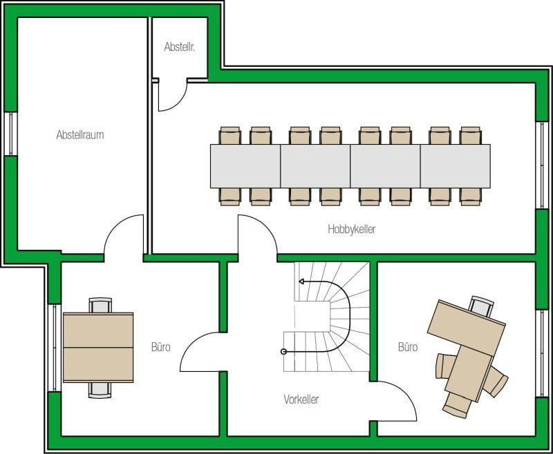 Musterhaus Treviso Grundriss UG