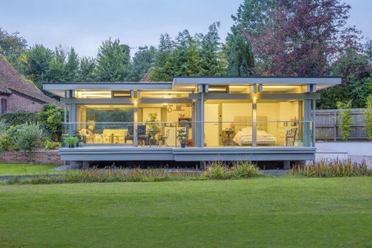 Huf Haus ART Flachdach Bungalow