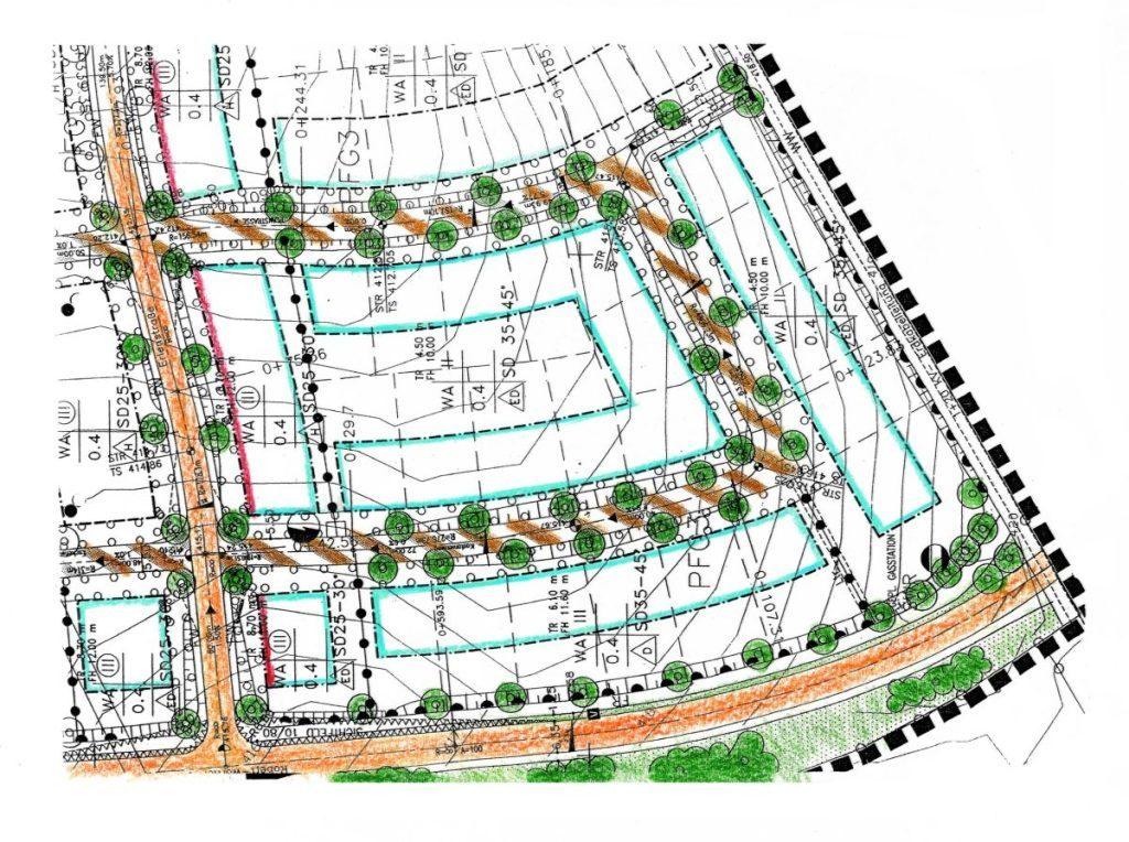 Haus schlüsselfertig bauen_Bebauungsplan