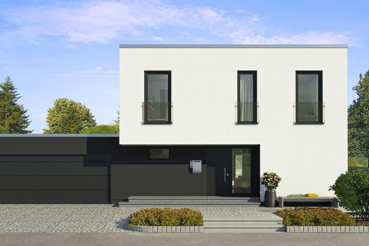 x-black 1 Bauhaus-Villa mit Garage