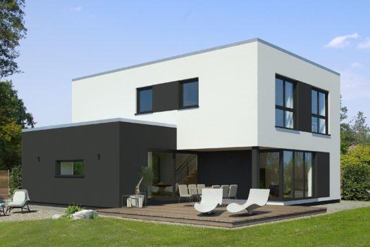 x-black 2 Bauhaus-Villa