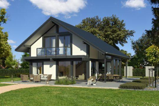 Modernes Fachwerkhaus Meisterstück Haus