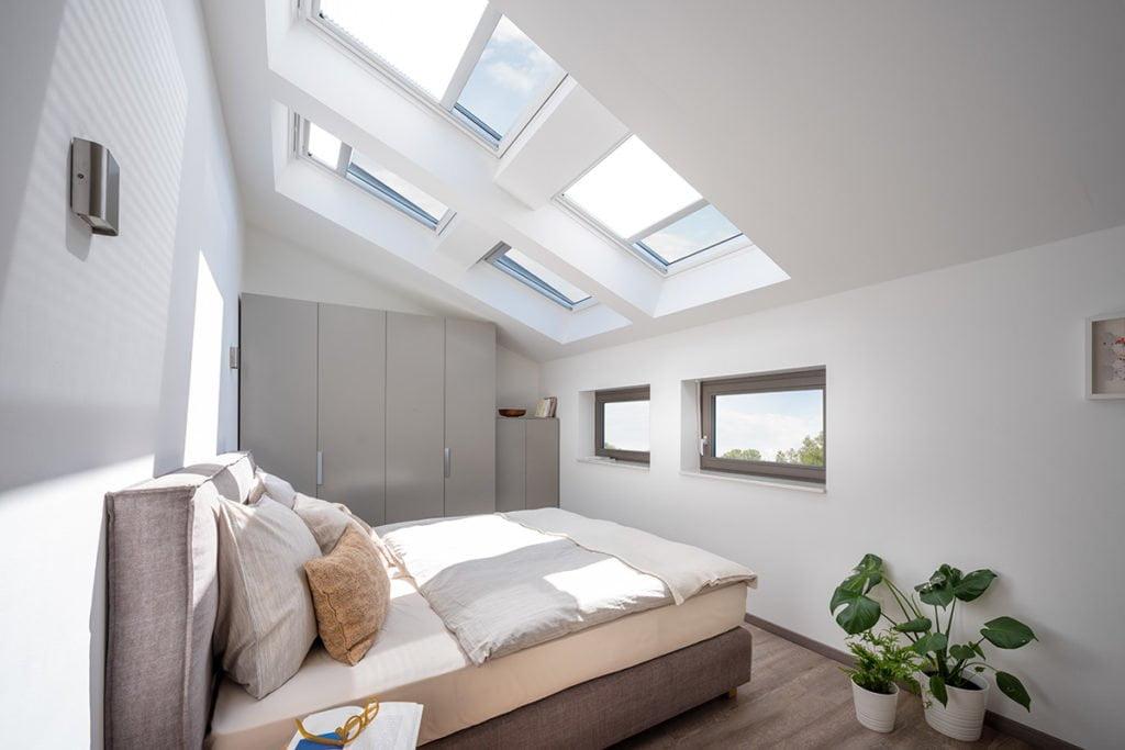 Wohngesundheit - Große Dachflächen sorgen für viel Tageslicht