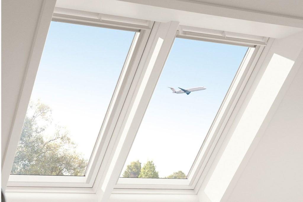 Wohngesundheit durch Schallschutzfenster von Velux