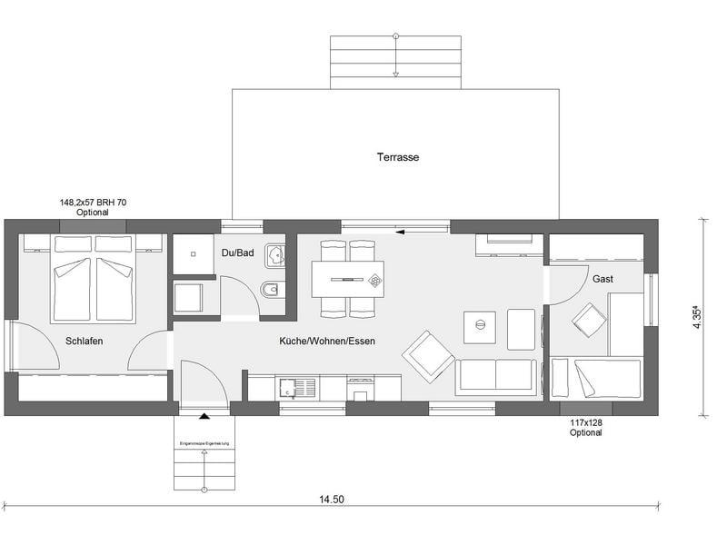 Tiny haus kaufen-Flyingspace-mi-50- qm-Schwoerer Haus