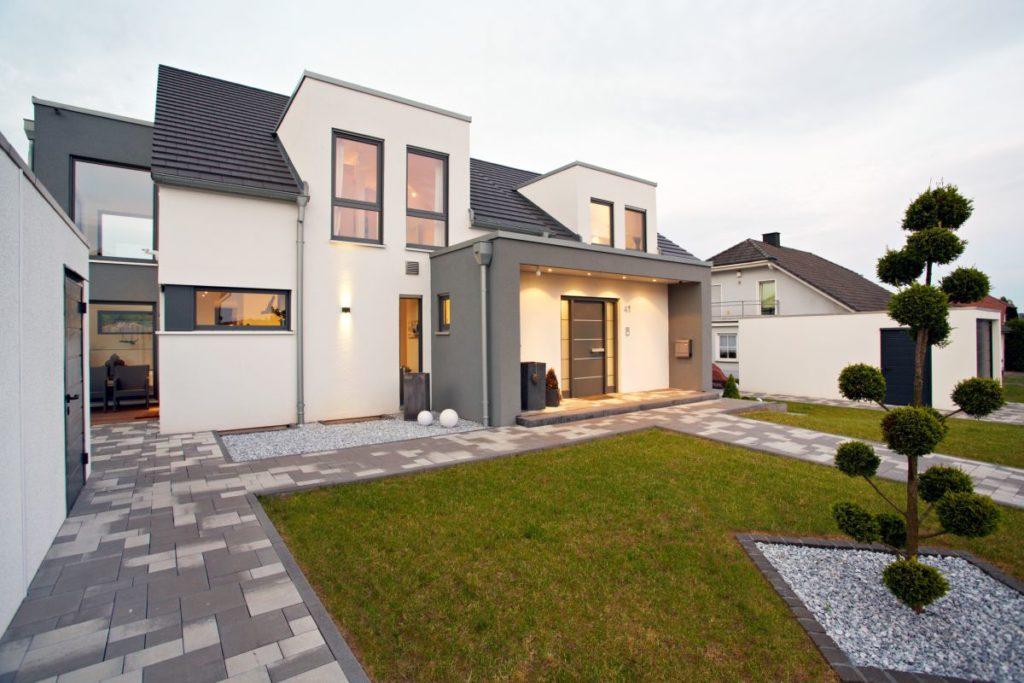 Einfamilienhaus-Grundriss-Gussek Doppelhaus Perlach