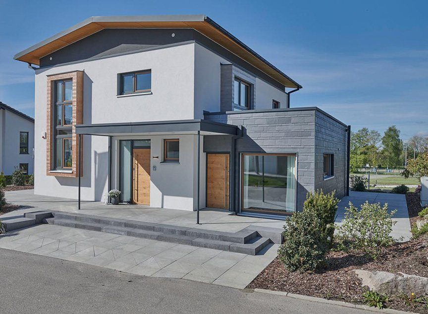 Die Energieeffizienzklasse Haus für das Musterhaus Villingen-Schwenningen von Kampa