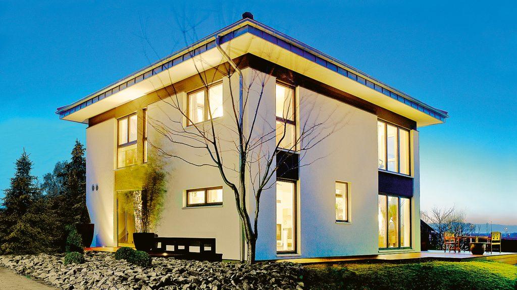 Energieeffizienzklasse Haus mit dem Musterhaus Chemnitz von Kmapa